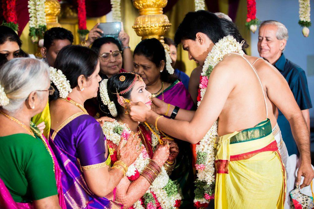 Sudarshan weds Dhivya, a beautiful Iyengar wedding